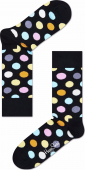HAPPY SOCKS Big Dot Black/Multi