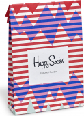 Happy Socks Gift Bag Stripe Reef Multi
