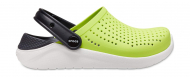 Crocs™ LiteRide Clog Kid's Lime Punch/Black