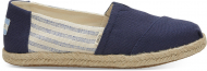 TOMS Canvas Ivy League on Rope Women's Alpargata Navy