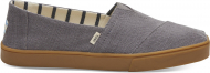 TOMS Heritage Canvas Men's Alpargata Cupsole Shade Grey