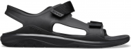 Crocs™ Swiftwater Molded Expedition Sandal Black/Black