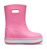 Crocs™ Crocband Rain Boot Kid's Pink Lemonade/Lavender