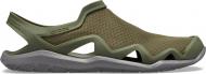 Crocs™ Swiftwater Mesh Wave Men's Army Green/Slate Grey