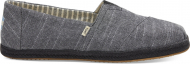 TOMS Chambray on Mono Rope Men's Alpargata Black