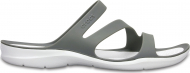 Crocs™ Women's Swiftwater Sandal Smoke/White