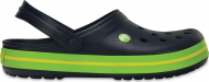 Crocs™ Crocband™ Navy/Volt Green/Lemon