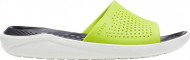 Crocs™ LiteRide Slide Lime Punch/Almost White