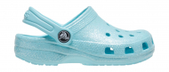 Crocs™ Kids' Classic Glitter Clog Ice Blue