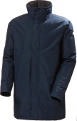HELLY HANSEN Dubliner Insulated Long Jacket Men's Navy