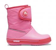Crocs™ Kids' Crocband II.5 Gust Boot Pink Lemonade/Poppy