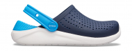 Crocs™ LiteRide Clog Kid's Navy/White