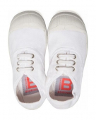 BENSIMON Tennis Lacet Enfant White