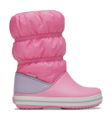 Crocs™ Crocband Winter Boot Kid's Pink Lemonade/Lavender