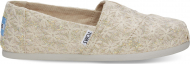TOMS Daisy Metallic Women's Alpargata Natural